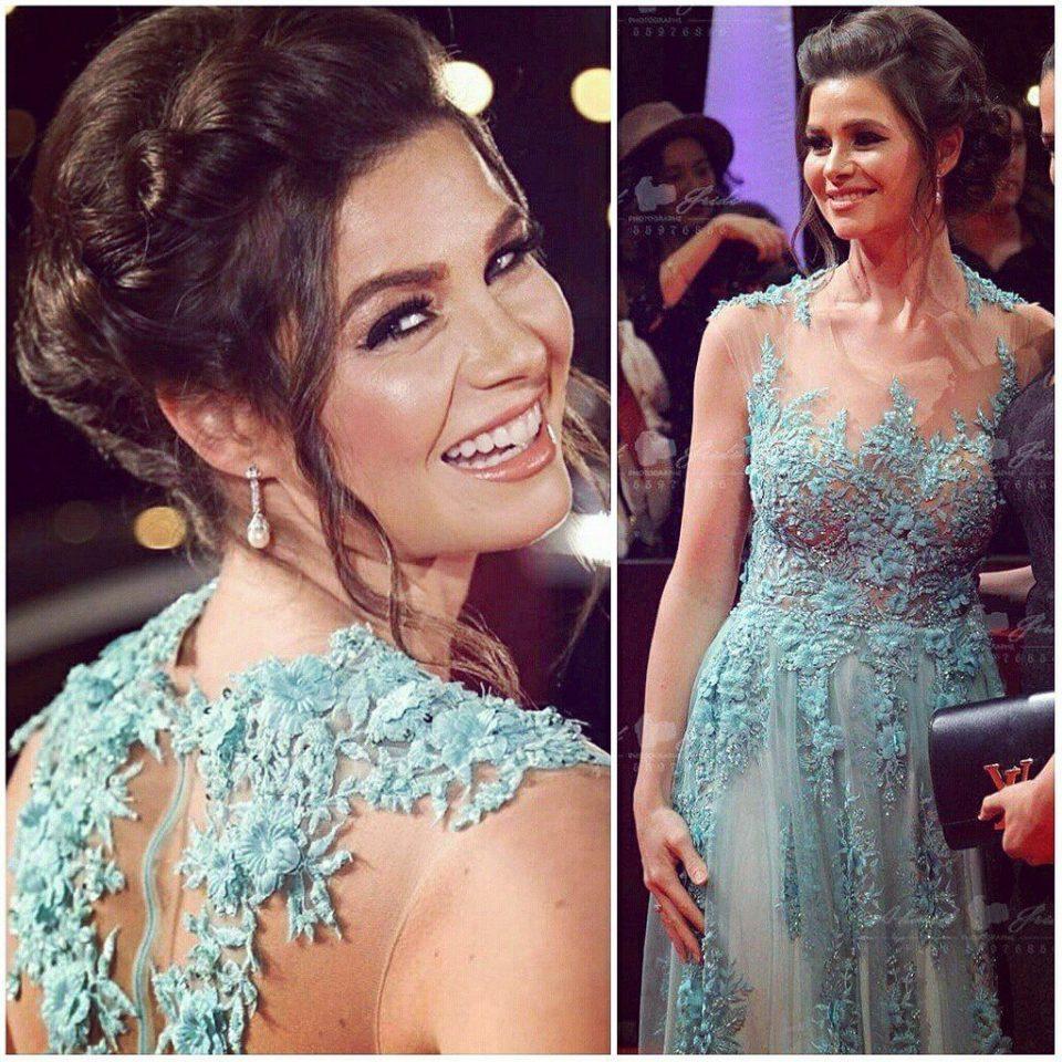 the egyptian actress yosra ellouzi #jcc2016