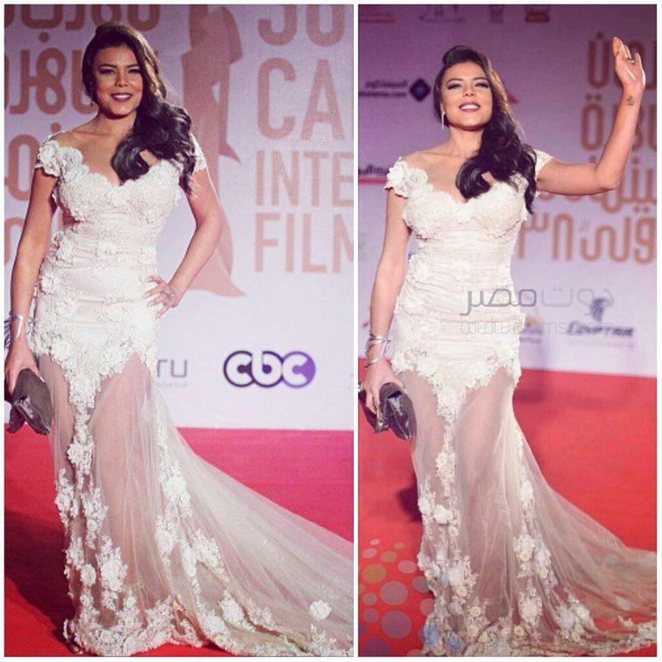 the egyptian actress Nahed El Sebai #cairofilmfestival