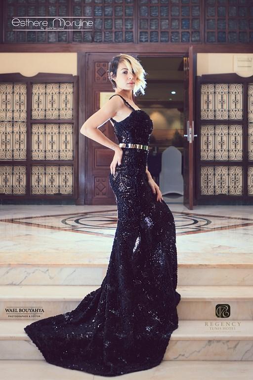 Tunisian Actress DHEKRA CHEBBI