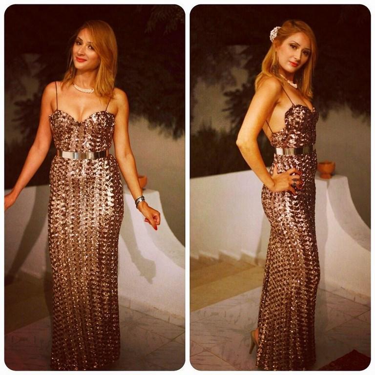 Tunisian Actress CYRINE BEL HEDI