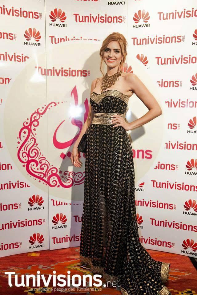 Arab and Tunisian Actress Samira Magroun