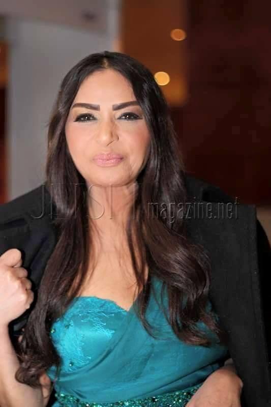 Egyptian Actress Salwa el Khatab in the JCC 2015