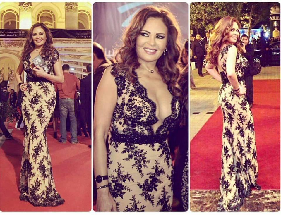 Lebanese Actress Carmen Lebbos for the JCC 2015